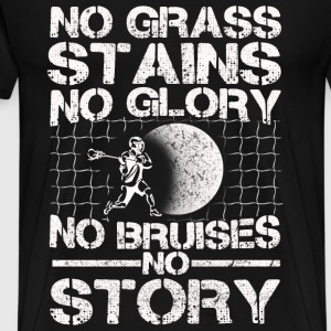 Hockey - No grass stains, no glory, no bruises - Men's Premium T-Shirt