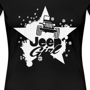 Jeep girl - Star and snow T-shirt - Women's Premium T-Shirt