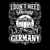 Need to go to Germany - I don't need therapy - Men's Premium T-Shirt