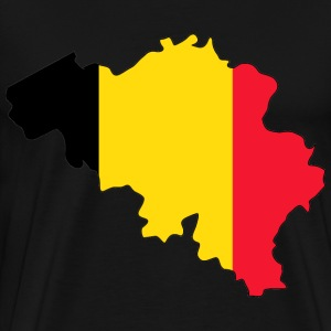 Pray for Belgium T-shirt - Men's Premium T-Shirt