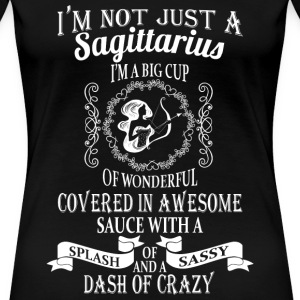 Sagittarius - Cup of wonderful covered in awesome - Women's Premium T-Shirt
