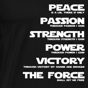 Sith - Through victory my chains are broken - Men's Premium T-Shirt
