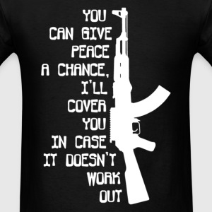 Funny MILITARY - Men's T-Shirt