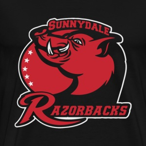 Sunnydale Razorbacks sport team - Men's Premium T-Shirt