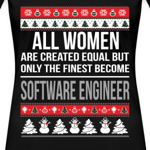Software engineer - All women are created equal - Women's Premium T-Shirt
