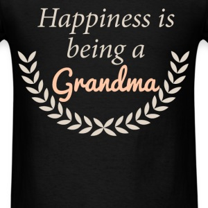 Happiness is being a Grandma - Men's T-Shirt