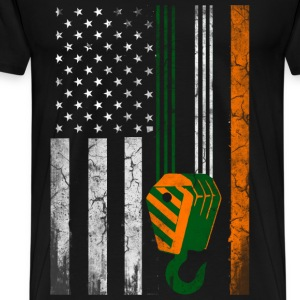 St. Patrick's day - Irish American T-shirt - Men's Premium T-Shirt