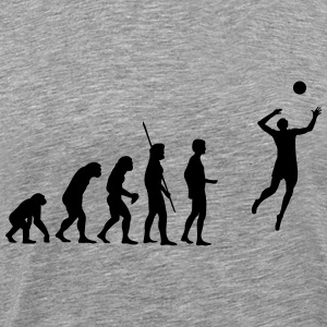 evolution Volleyball Shirt - Men's Premium T-Shirt