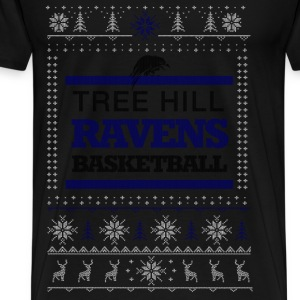 Tree hill Ravens basketball Christmas - Men's Premium T-Shirt