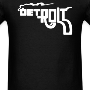 DETROIT 'SMOKING GUN' - Men's T-Shirt