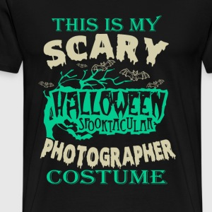 This is my scary photographer costume - Halloween - Men's Premium T-Shirt