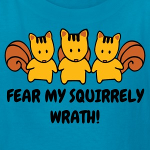 Mad Squirrel Wrath Humor - Kids' T-Shirt