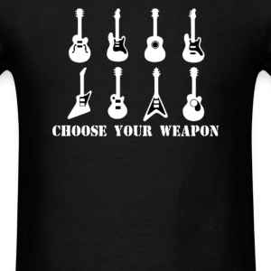 Choose Your Weapon Guitar - Men's T-Shirt