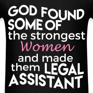 God found some of the strongest women and made  th - Men's T-Shirt