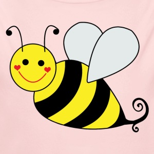 Cute Bumble Bee - Long Sleeve Baby Bodysuit