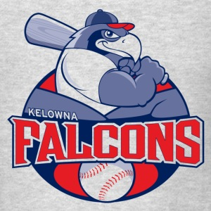 Kelowna Falcons Logo - Men's T-Shirt