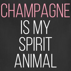 Champagne Spirit Animal Funny Quote Aprons - Adjustable Apron