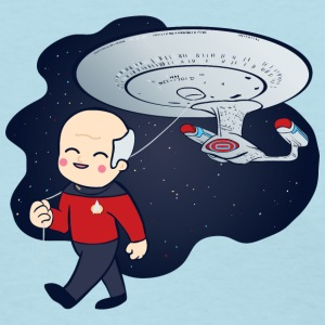 Picard Trek Enterprise - Women's T-Shirt
