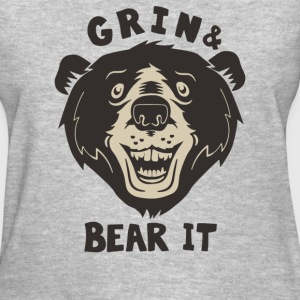 Grin And Bear It - Women's T-Shirt