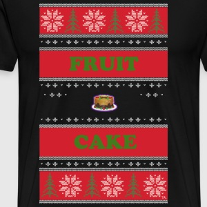 FRUIT CAKE UGLY CHRISTMAS SWEATER T-Shirts - Men's Premium T-Shirt
