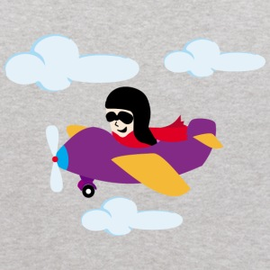 Boy flying by plane Sweatshirts - Kids' Hoodie