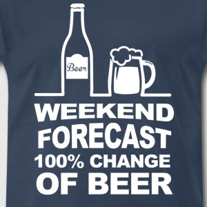Weekend Forecast T-Shirts - Men's Premium T-Shirt
