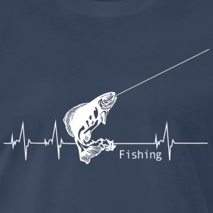 Heartbeat Fishing T-Shirts - Men's Premium T-Shirt