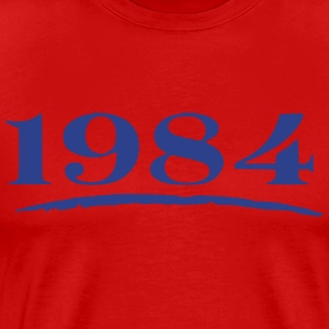 1984 Red & Blue - Men's Premium T-Shirt