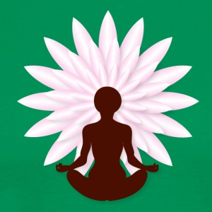 Yoga lotus T-Shirts - Men's Premium T-Shirt