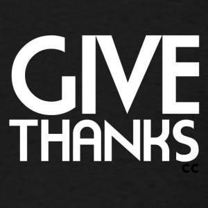Give Thanks - Men's T-Shirt