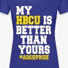 Ladies My HBCU Is Better Than Yours Tee - Women's Premium T-Shirt