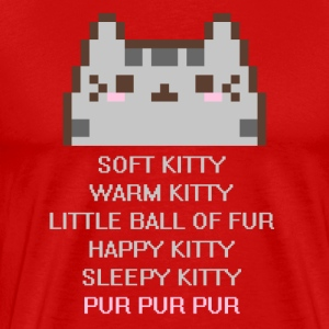 TBBT Soft Kitty Warm Kitty TV & Movies T-shirt T-Shirts - Men's Premium T-Shirt