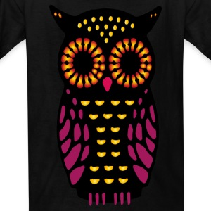 Toddler's Owl Tee  - Kids' T-Shirt