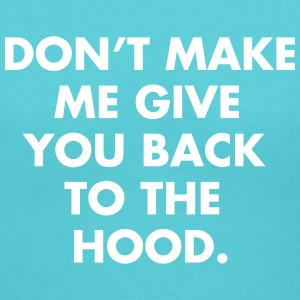 Back to the HOOD T-Shirts - Women's V-Neck T-Shirt