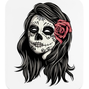 Santa Muerte Holy Woman Other - Mouse pad Vertical
