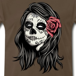 Santa Muerte Holy Woman T-Shirts - Men's Premium T-Shirt