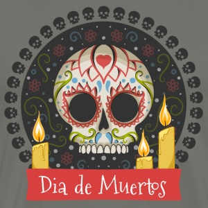 Sugar Skull - Day of the Dead #01 T-Shirts - Men's Premium T-Shirt