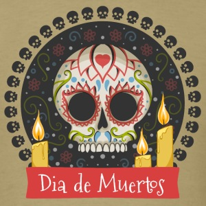 Sugar Skull - Day of the Dead #01 T-Shirts - Men's T-Shirt