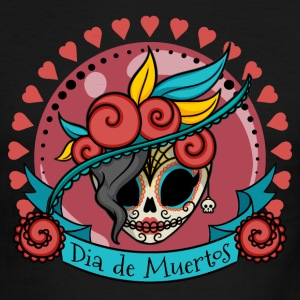 Sugar Skull #02 T-Shirts - Men's Ringer T-Shirt