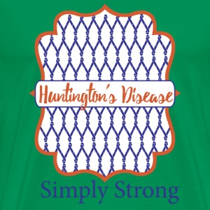 Simply Strong - Huntington's Disease - Men's Premium T-Shirt