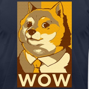 Doge  T-Shirts - Men's T-Shirt by American Apparel