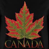 Design ~ Men's Canada Maple Leaf T-shirt Canada Souvenir Shirts