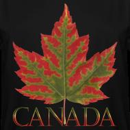 Design ~ Men's Tall Canada T-shirts Canada Maple Leaf Plus Size Shirts
