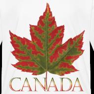 Design ~ Kid's Canada Maple Leaf T-shirts