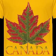 Design ~ Toddler's Canada T-shirt Canada Maple Leaf Shirts
