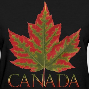 Women's Canada Maple Leaf T-shirt Plus Size Canada - Women's T-Shirt