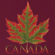 Design ~ Canada Maple Leaf Hoodie Canada Souvenir Shirts