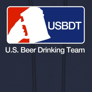 U.S. Beer Drinking Team - Hoody - Men's Hoodie
