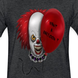Clowning Around - Fitted Cotton/Poly T-Shirt by Next Level