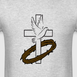 dove and Thorns - Men's T-Shirt